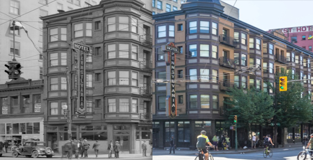 Go back in time with these then-and-now snapshots of Vancouver (PHOTOS)