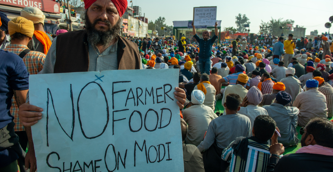 farmers' protests india