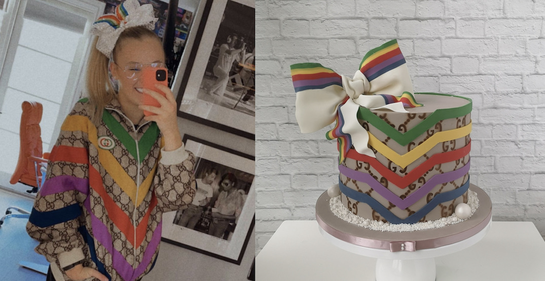 Gucci orders cake from Vancouver bakery for viral YouTuber JoJo Siwa