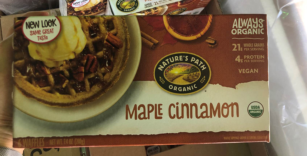 maple cinammon waffles