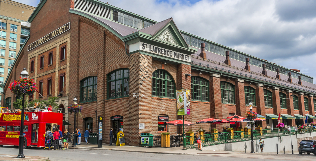 You can now get delivery from Toronto's St. Lawrence Market