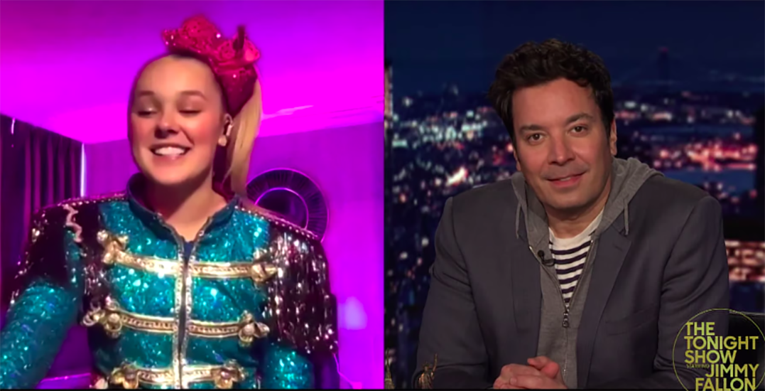 JoJo Siwa reveals Vancouver-filmed musical during Tonight Show appearance