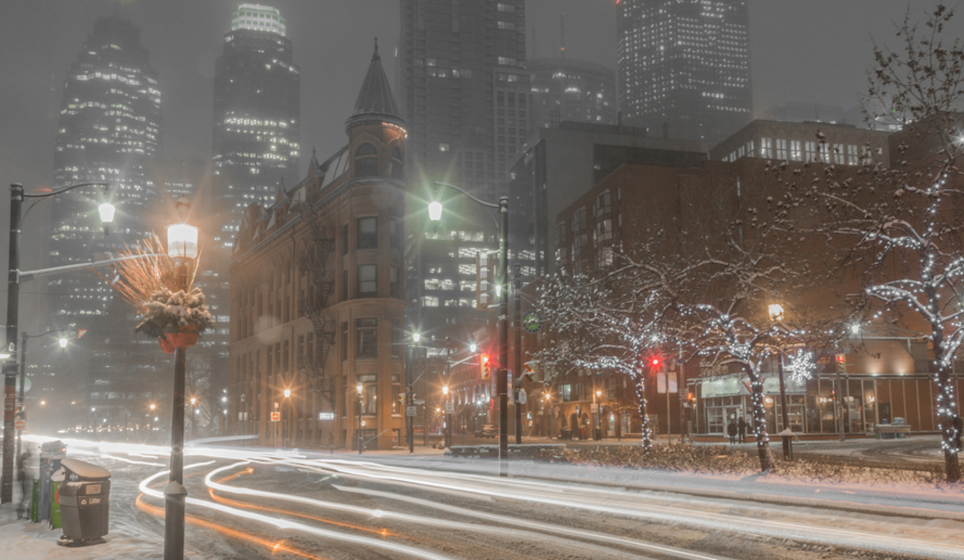 Toronto expecting up to 5 cm of snow overnight and into Friday
