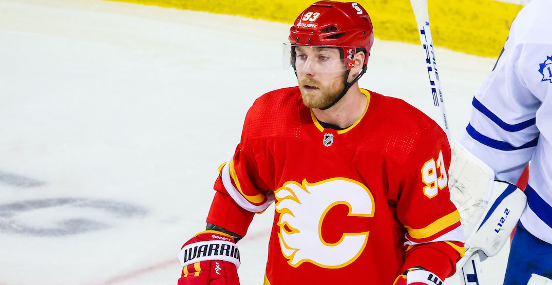 Flames are making Sam Bennett a healthy scratch tonight