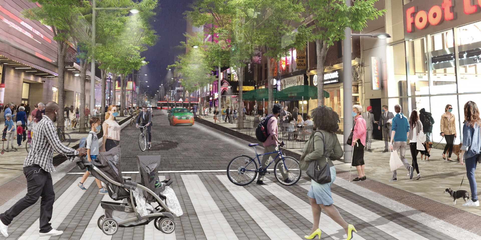 Toronto's iconic Yonge Street to be transformed into pedestrian-friendly space