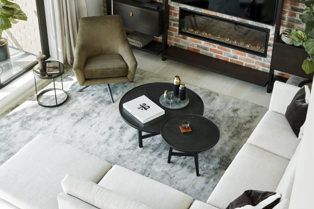 Aragon Light House_Living Room Fireplace