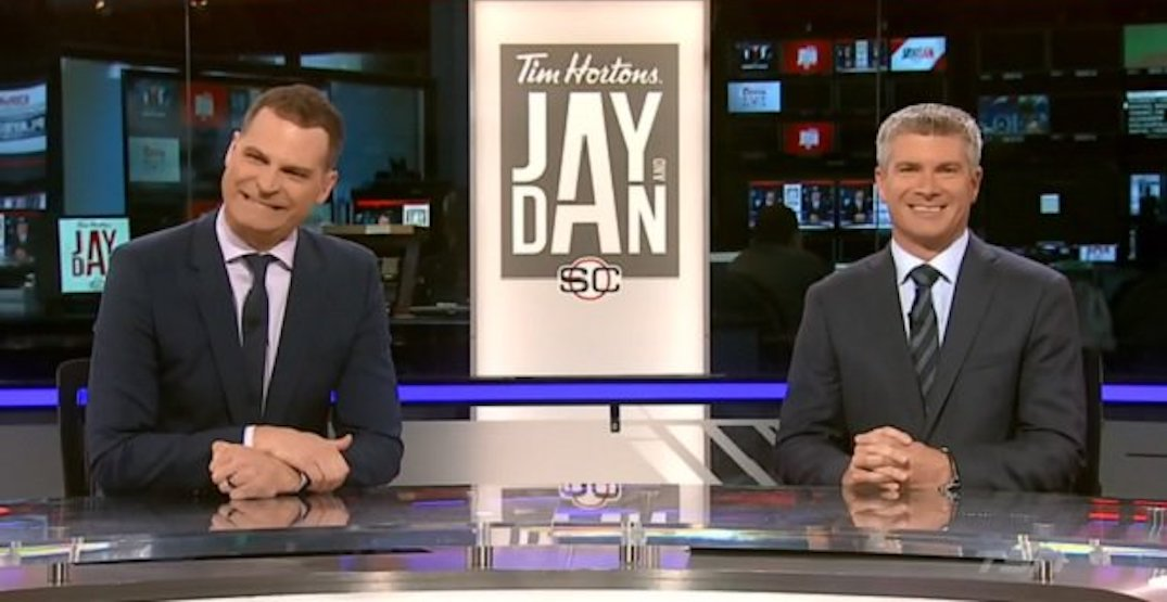 Canadian sports fans are pissed after TSN breaks up Jay and Dan