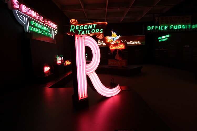 Vancouver neon signs