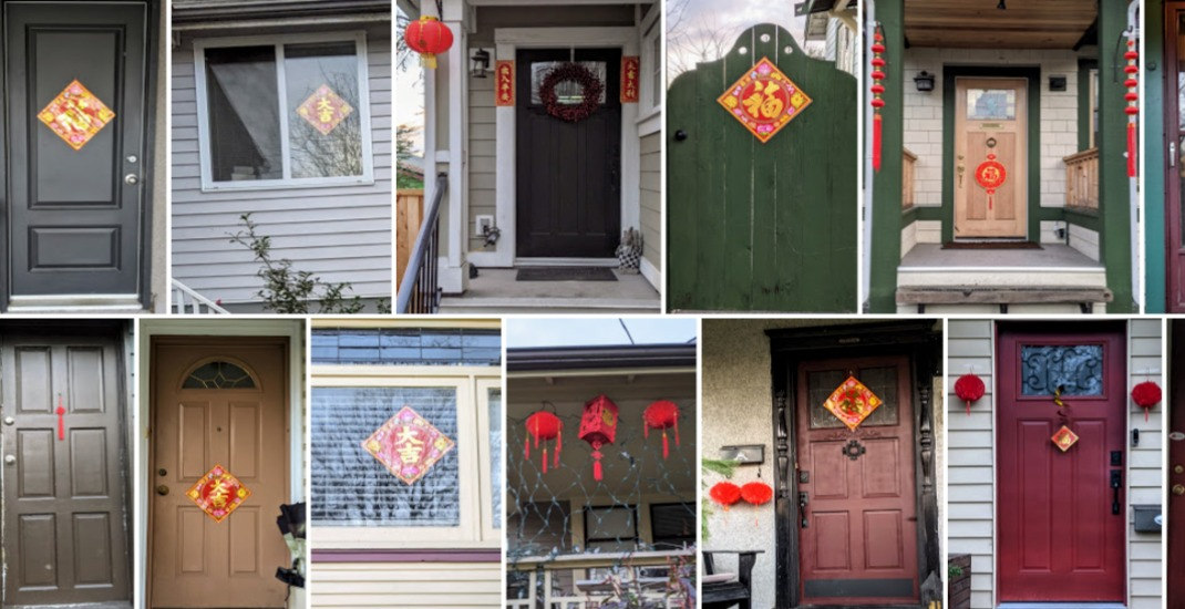 Entire neighbourhood decorates for family's Lunar New Year celebrations