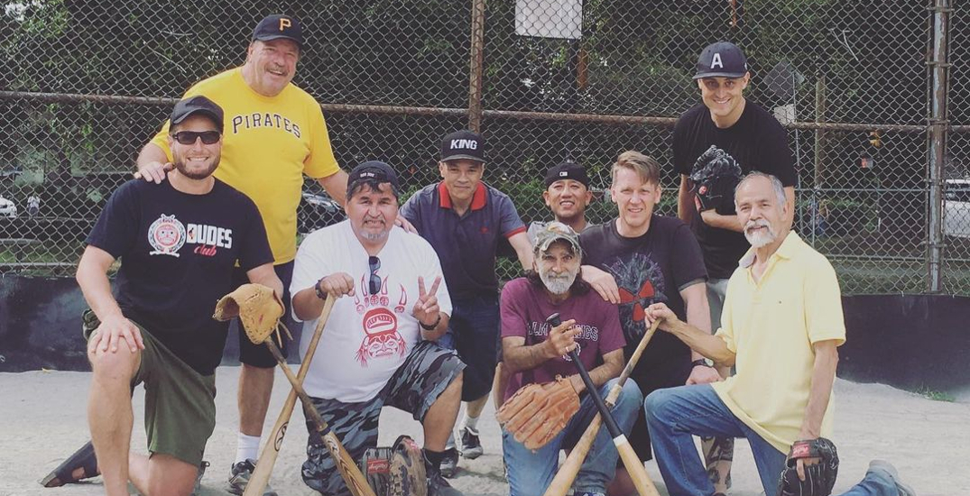 Baseball player launches fundraiser to support DTES men's mental health