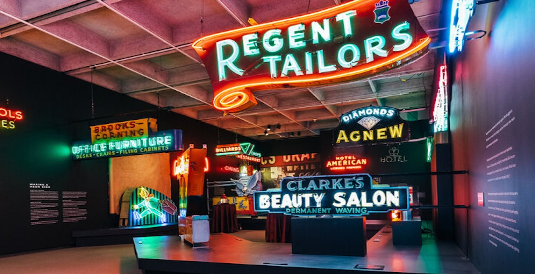 Museum of Vancouver exhibit shows city's history of vintage neon signs
