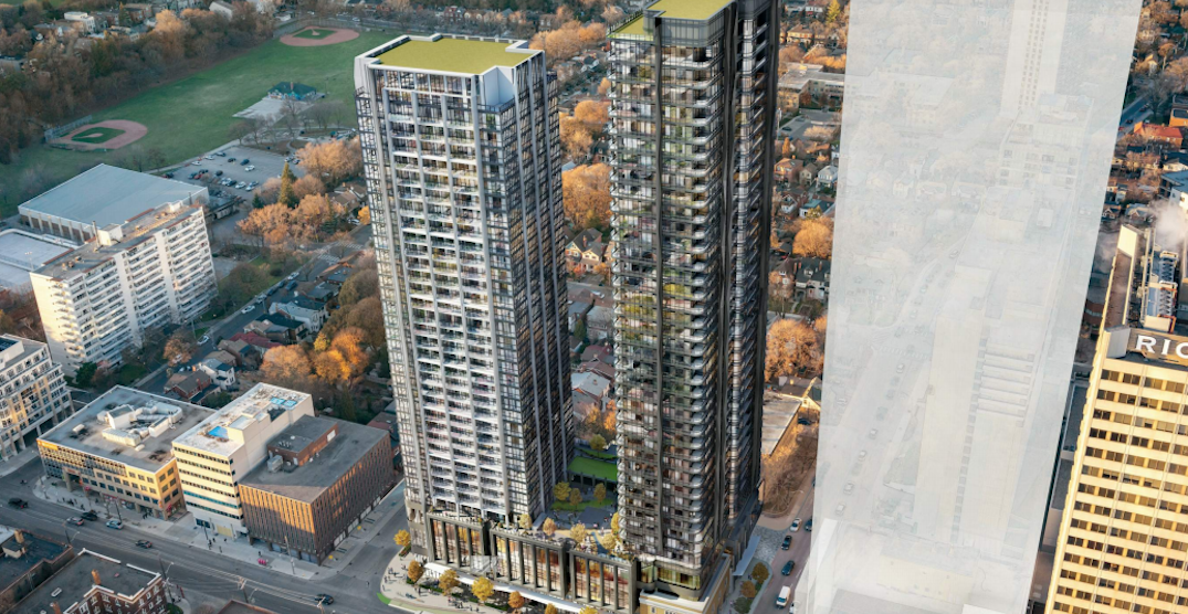 Proposed two-tower development on Eglinton West might get even taller