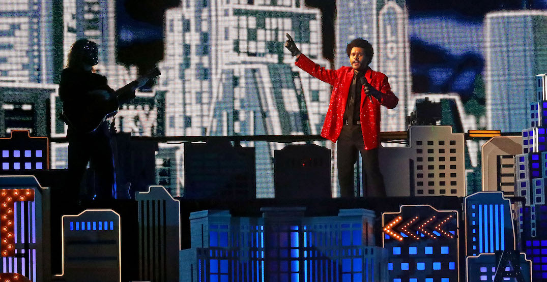 The Weeknd spent $7M of his own money for Super Bowl halftime show