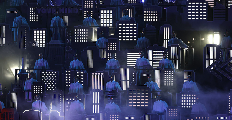 The Weeknd halftime show choir