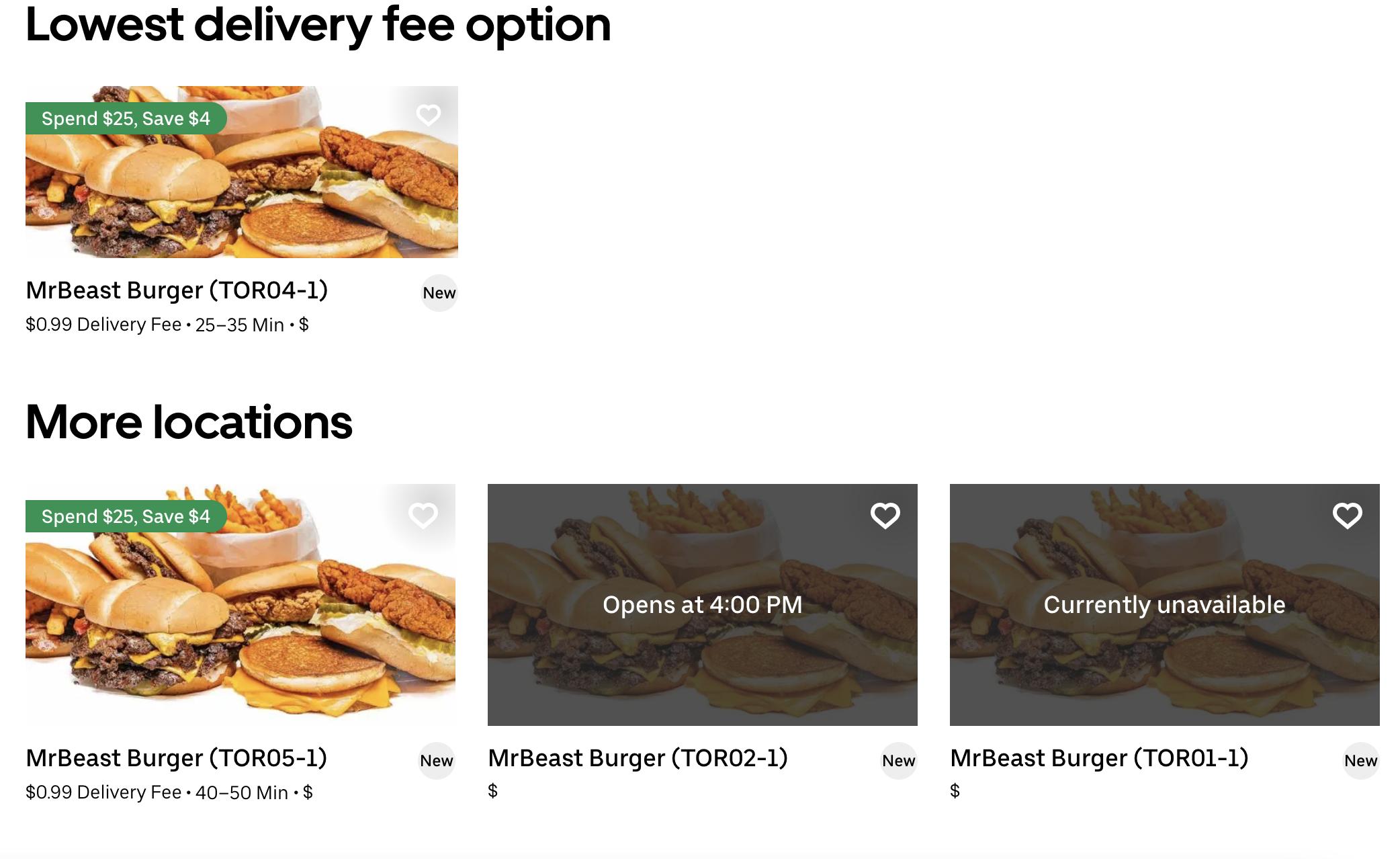 mrbeast burger toronto