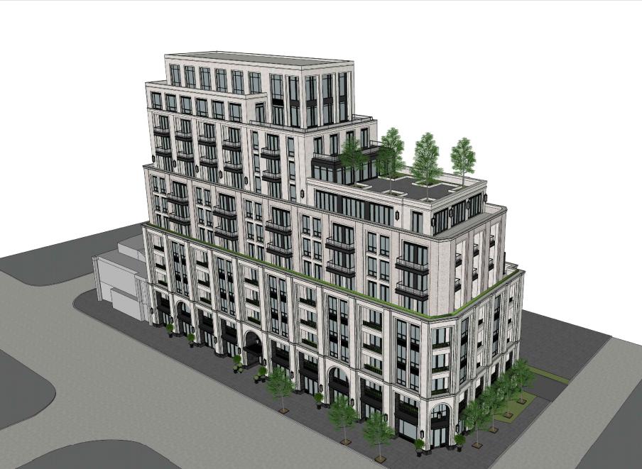 Yonge and Woburn development