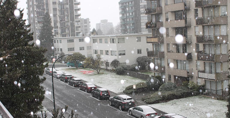 snow kitsilano