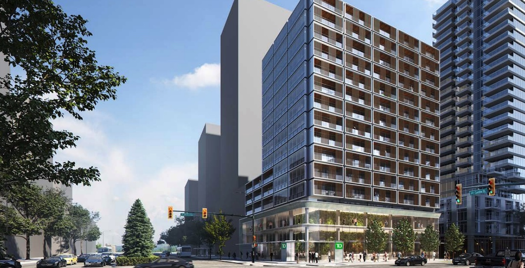 Rental homes proposed for former gas station at 41st Avenue and Cambie Street corner