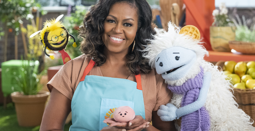 Michelle Obama is starring in a new Netflix show for kids