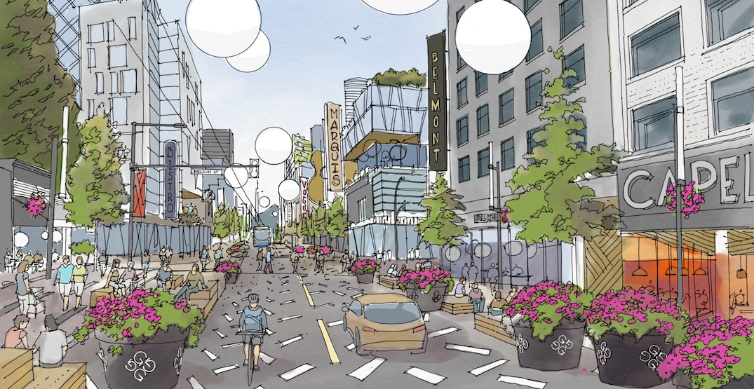 """""""Restaurant row"""" part of new bold vision for a vibrant Granville Street in downtown"""