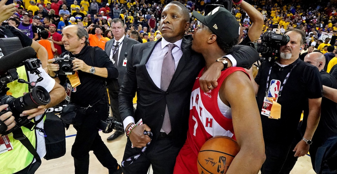 "Raptors president Masai Ujiri ""vindicated"" after police officer drops lawsuit"
