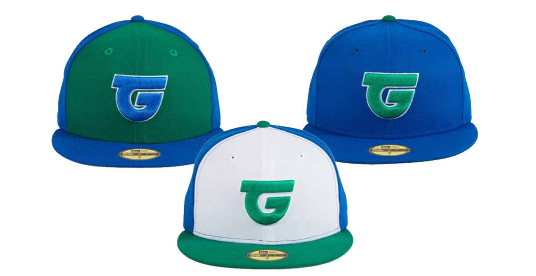 The ill-fated Toronto Giants baseball team now have their own caps