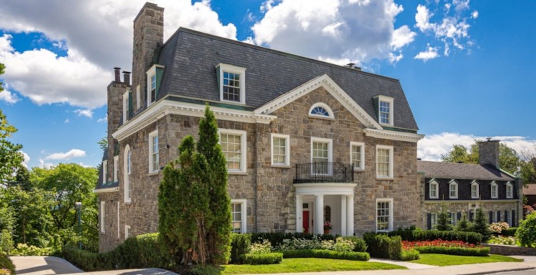 A look inside: $12.5M majestic stone house in Montreal (PHOTOS)