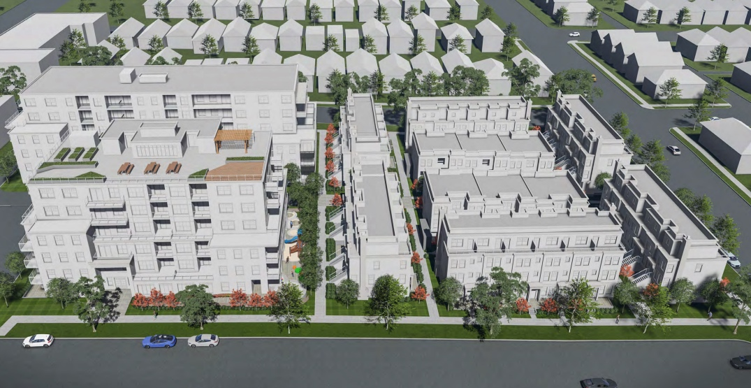 241 new homes proposed in city block-sized redevelopment in Vancouver Westside