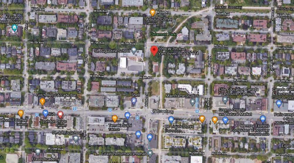 2086-2098 West 7th Avenue 2091 West 8th Avenue Vancouver