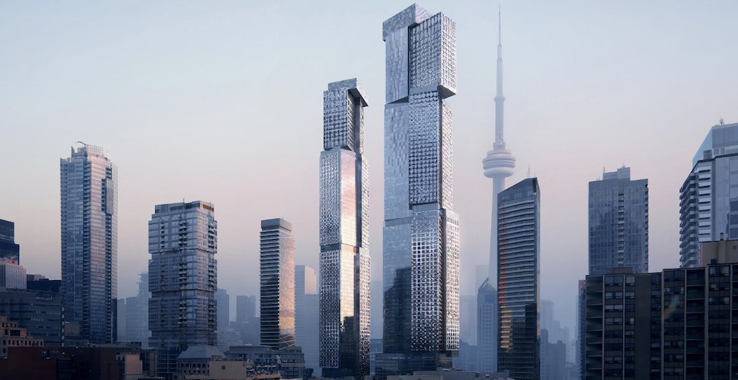 Here's what Frank Gehry is planning for two new Toronto skyscrapers