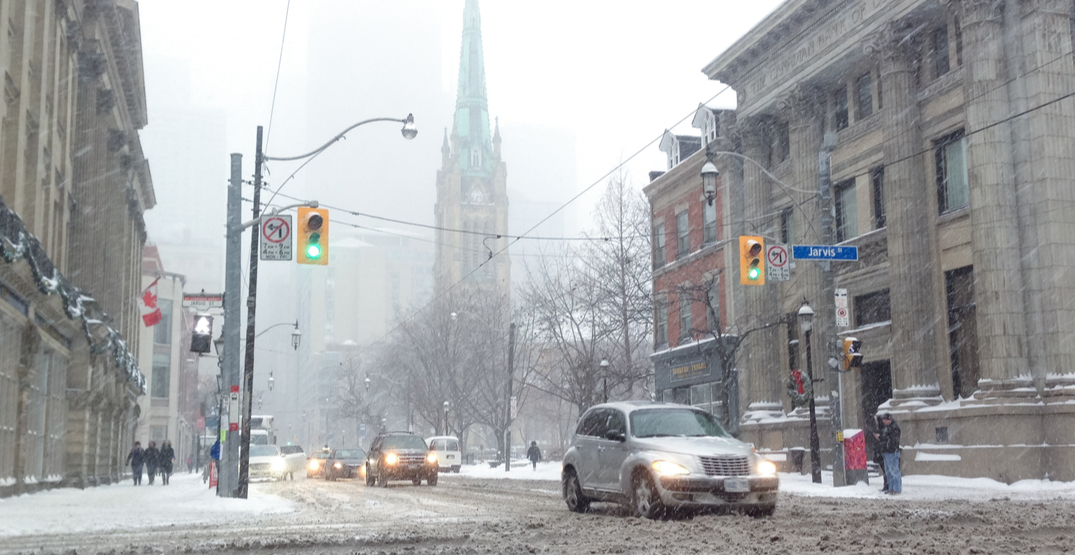 Up to 5 cm of snow expected for Family Day Weekend in Toronto