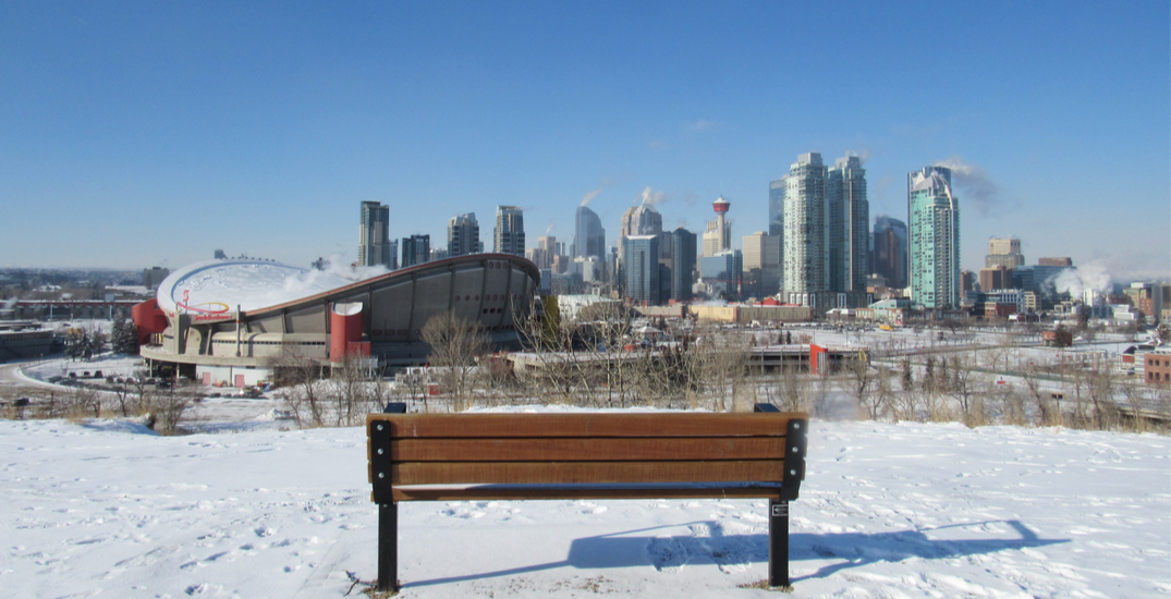 Win a dedicated park bench at one of Calgary's most popular viewpoints