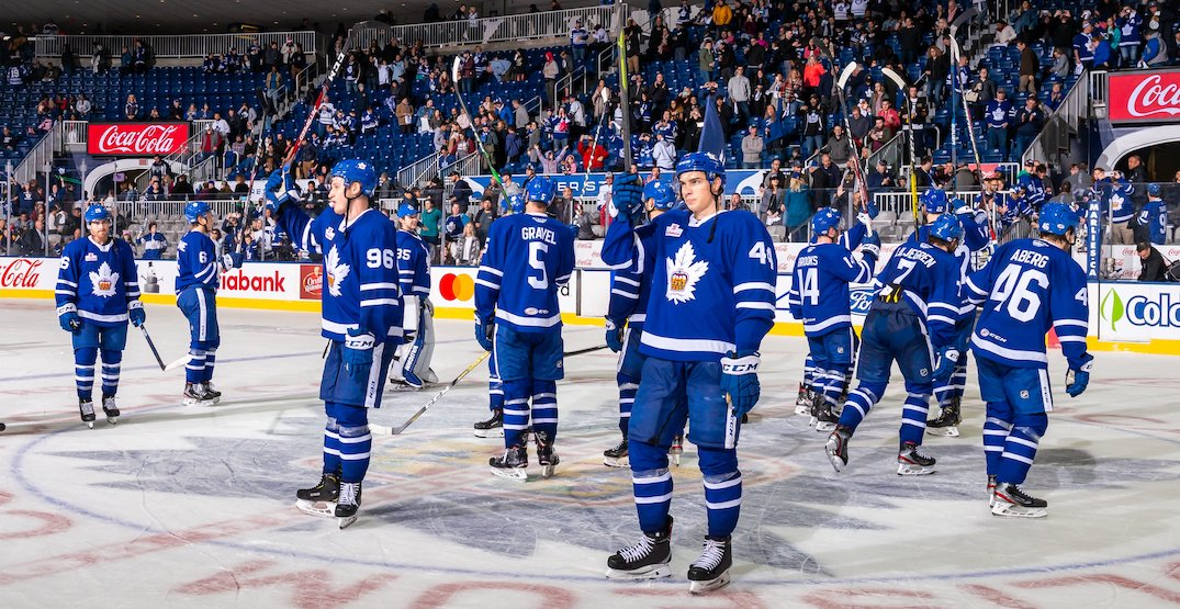 Ontario government approves plan allowing Toronto Marlies to play at home