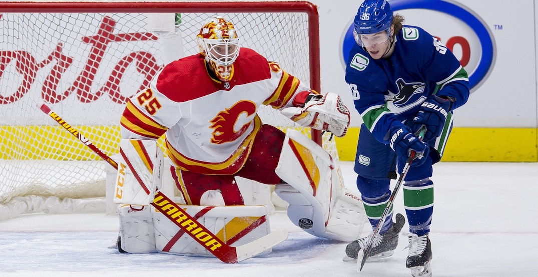 #ThankYouJim trends sarcastically after Canucks' sixth straight loss