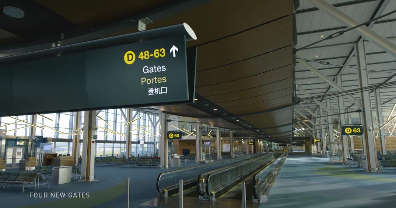 vancouver international airport yvr pier d terminal
