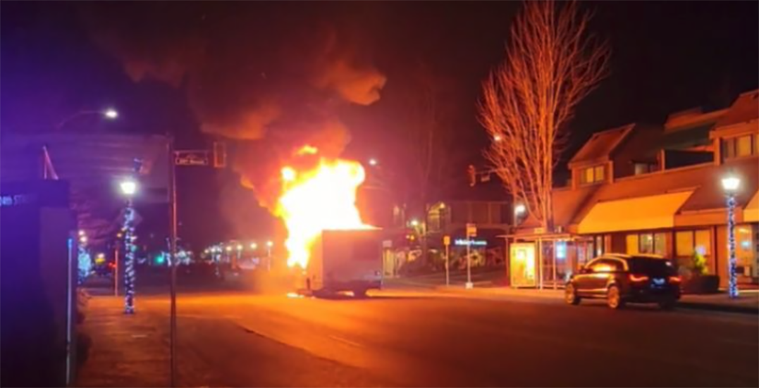 Over $17k raised after 83-year-old man loses RV home in West Van fire