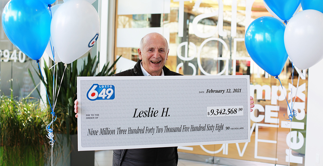 West Vancouver lottery winner to donate part of $9.3M prize to BC hospitals