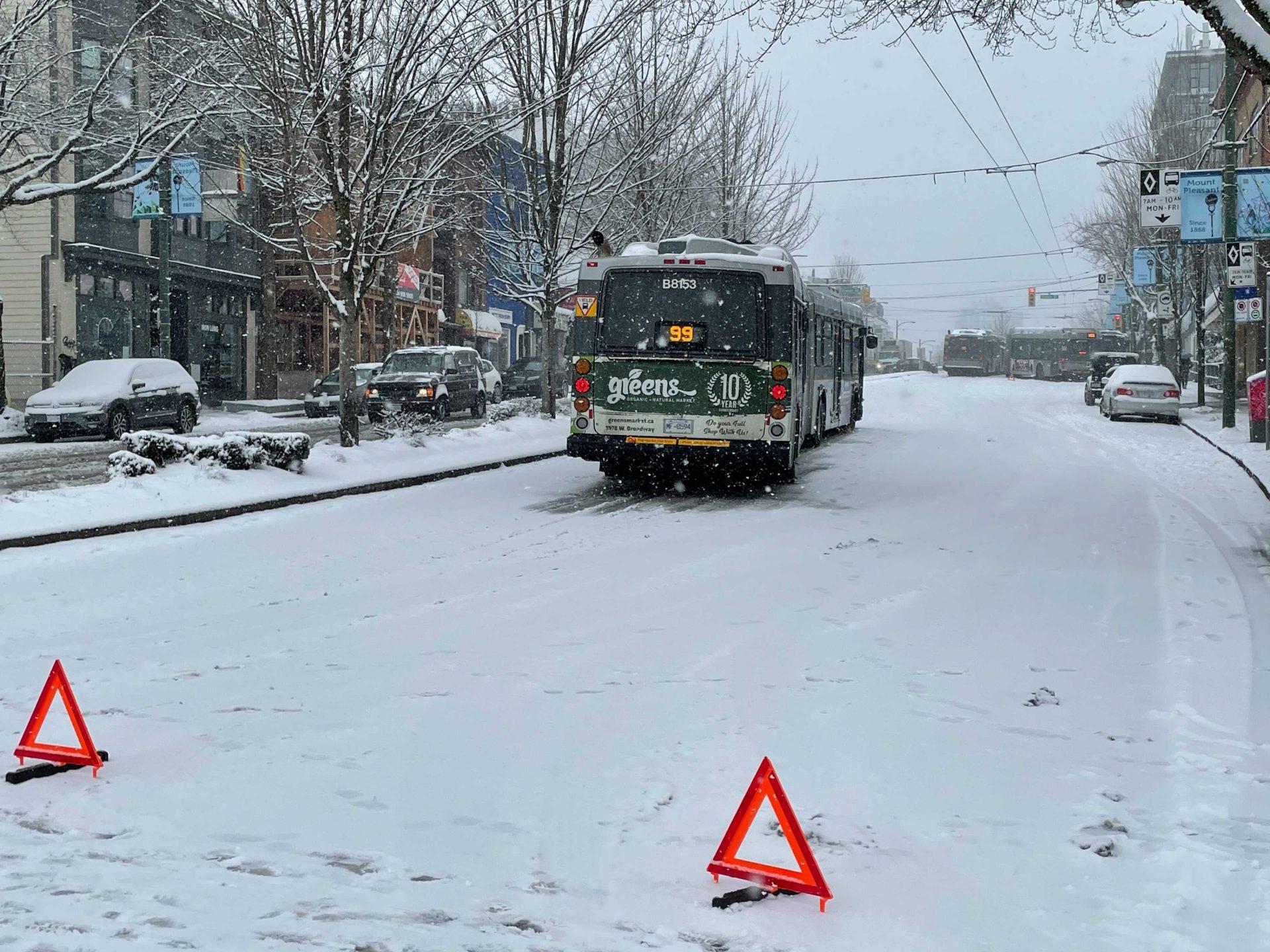 TransLink snow