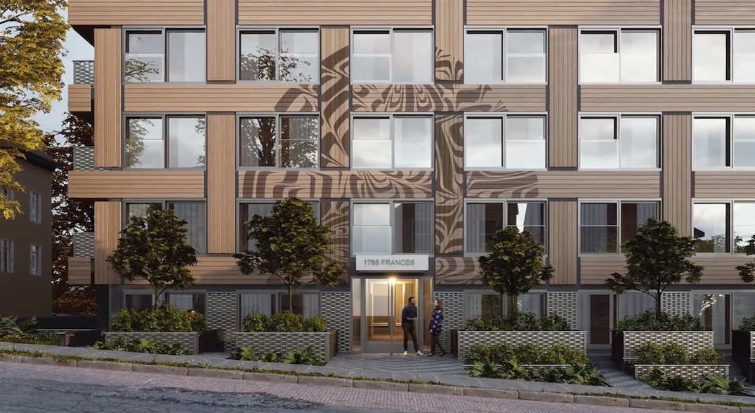 1766 Frances Street Vancouver First Nations Housing