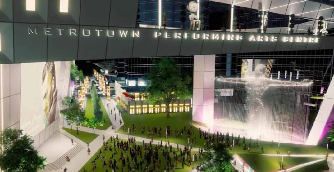 City of Burnaby planning $460-million Metrotown events and convention centre