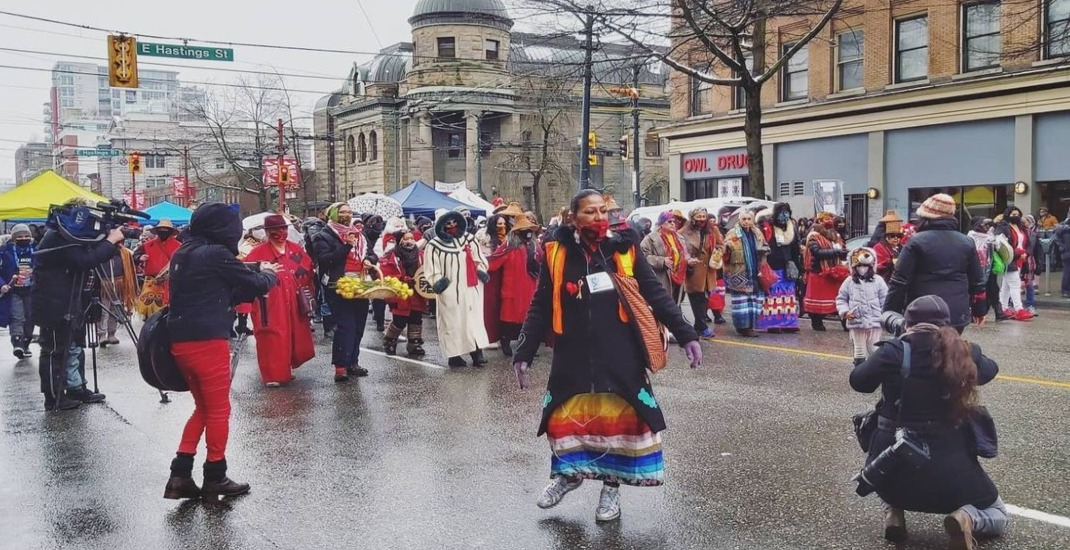 """""""No more stolen sisters"""": Annual march remembers and honours missing and murdered women"""
