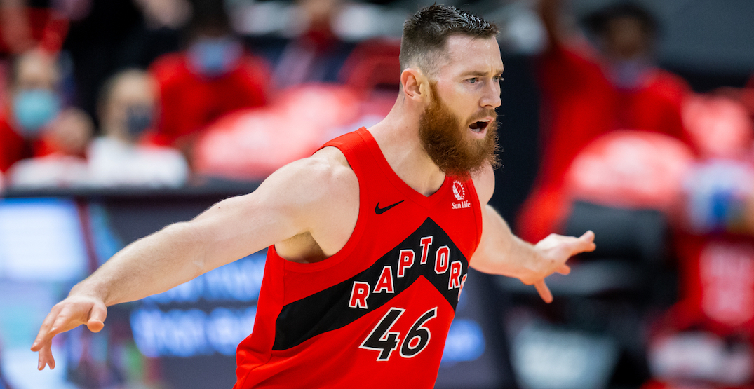 It's time for the Raptors to move Aron Baynes out of the starting lineup