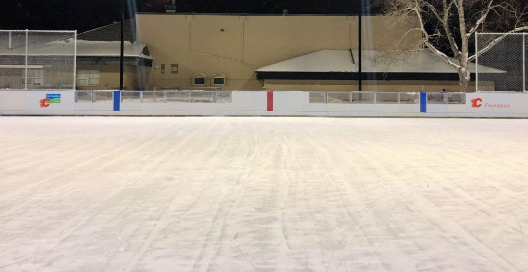 This Calgary community is home to Alberta's first accessible outdoor rink