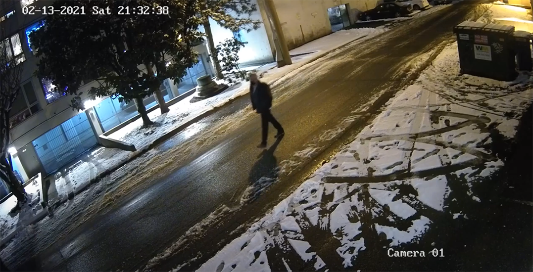 VPD share footage of suspect who allegedly grabbed, tackled woman in West End (VIDEOS)