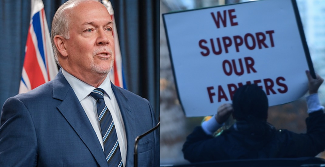"""Premier Horgan asks Trudeau to encourage Indian government to find """"peaceful resolution"""" to farmers' protests"""