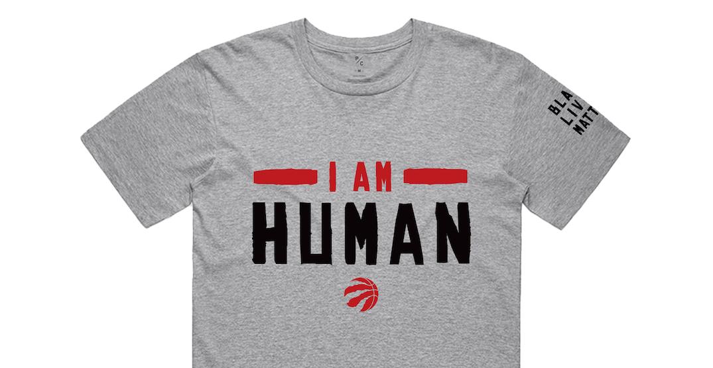 Raptors BLM T-shirt