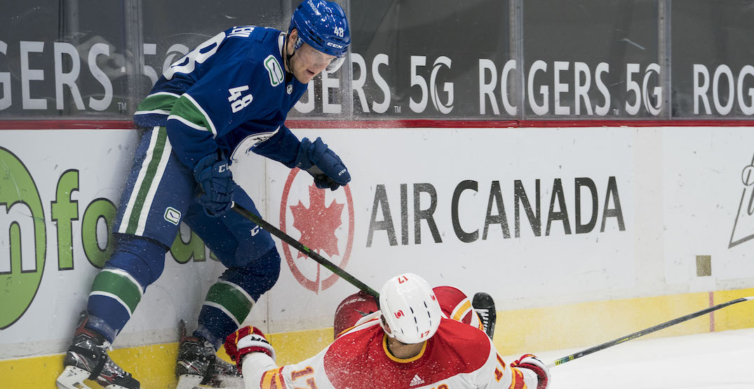 Juolevi finally healthy, comfortable in first season with Canucks