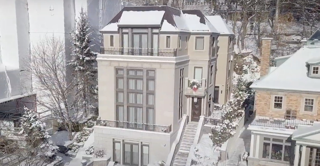 A look inside: $6.9M five-floor mansion in Montreal (PHOTOS)