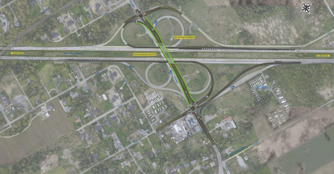 highway 1 upgrade langley