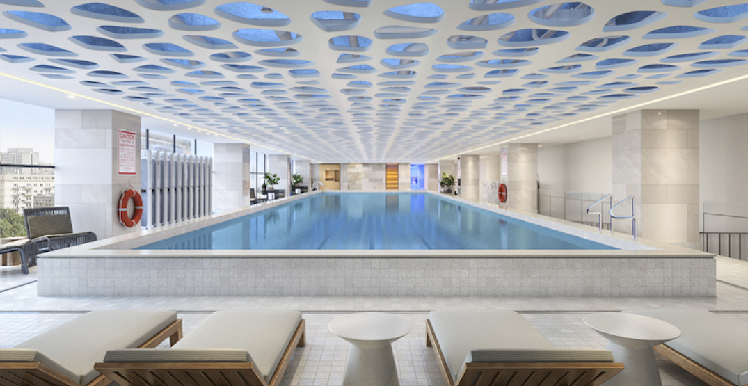 New 89,000 sq ft wellness club opening in Liberty Village (RENDERINGS)